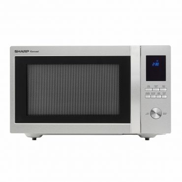 1.6 cu. ft. Sharp Stainless Steel Carousel Countertop Microwave (SMC1655BS)
