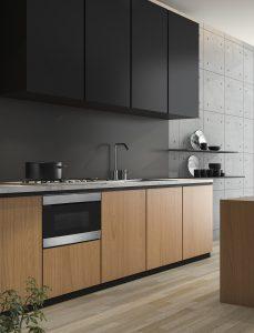Sharp Microwave Drawer in a modern kitchen