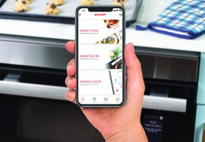 App with a smart kitchen