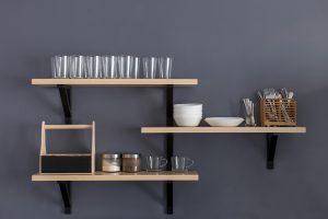 Floating Shelves for Your Kitchen