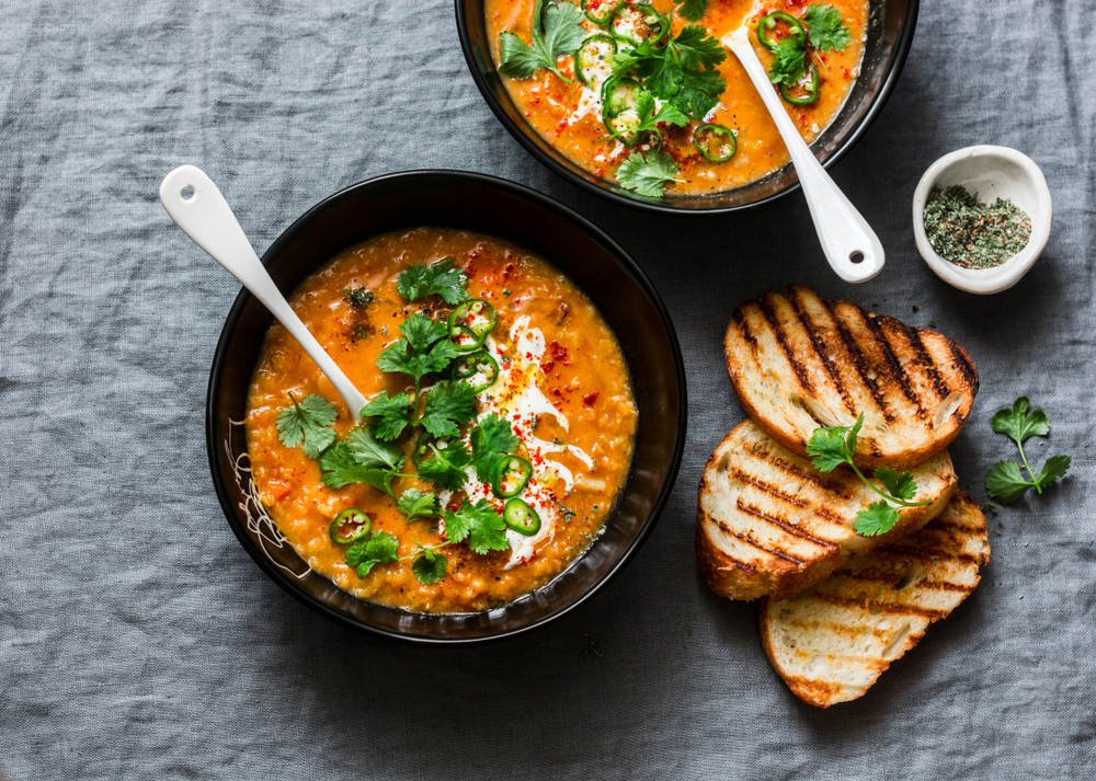 Comfort food for Fall in bowls