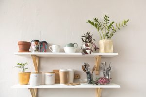 Floating Shelves for Small Spaces