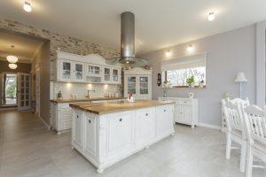 Classic kitchen design.