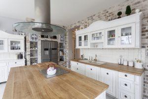 Classic kitchen design,