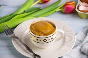 Peanut Butter Mug Cake Madfe in a Microwave