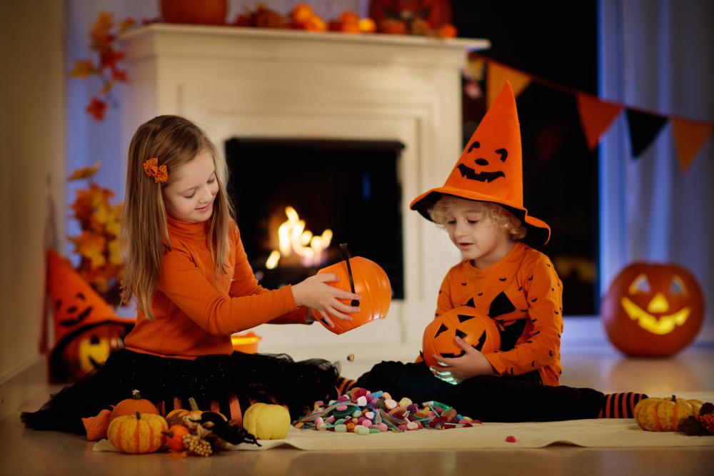 Halloween candy exchange