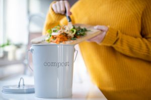 Composting in a kitchen
