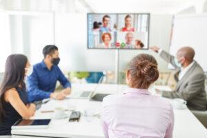Hybrid conference room