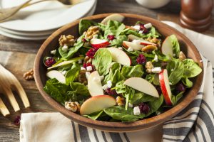 APPLE AUTUMN SALAD in a bowl