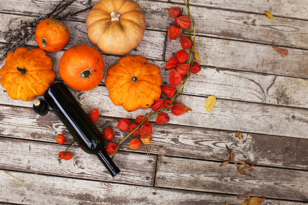 Wine and pumpkin